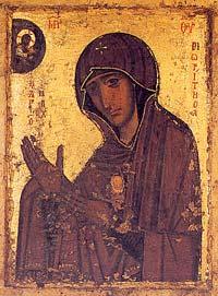 Чудотворная икона Богоматери Махера