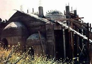 Строительство Вознесенского храма