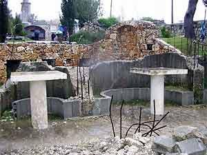 Остатки храма Вознесения на Елеонской горе
