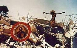 23 июля 1992 года церковь была разрушена