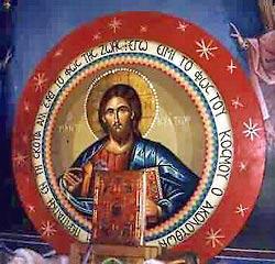 Чудотворная икона Спасителя в нижнем храме
