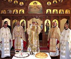 Престольный праздник в храме Свмч. Петра Дабро-Боснийского в Войковичах. Восточное Сараево