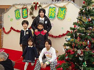 Детская рождественская ёлка в Хакодатэ