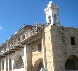 Монастырь апостола Андрея Первозванного на Кипре. Фото http://www.churchofcyprus.org.cy