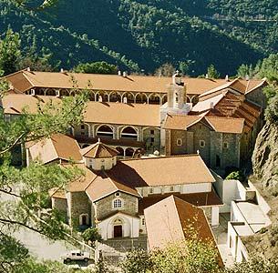 Киккский монастырь. Фото www.cyprus.gov.cy