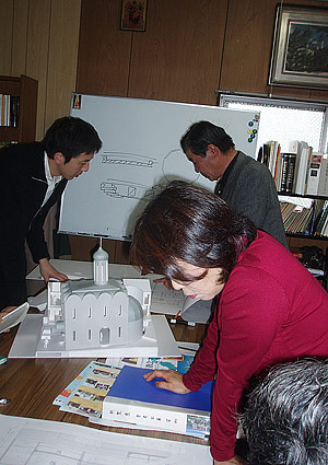 Приходской совет работает над проектом храма