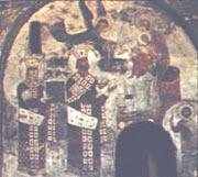 Фрески в монастыре