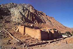 Монастырь у подножия горы Синай