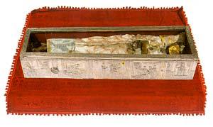 Ковчег с мощами св. Иоанна Русского